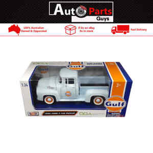 DDA Collectables by Motor Max 1:24 Gulf Oil 1956 Ford F-100 Pickup