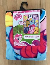 "Hasbro ""Friendship is Magic"" Micro Raschel Throw 50 by 60-Inch 2014 Rare"