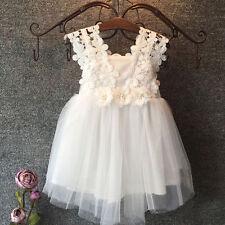 New Flower Girl Dress Wedding Bridesmaid Birthday Party Formal Pageant Dress k33