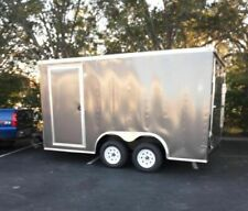 Barely Used 2018 8' x 16' Lark Empty Concession Trailer for Sale in Minnesota!