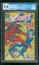CGC 9.8 X-FORCE #11 MARVEL COMICS 1992 1ST APPEARANCE REAL DOMINO DEADPOOL 2 j