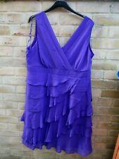 Debenhams Purple Dress Size 20