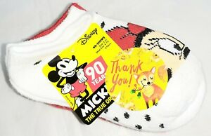 New DISNEY MICKEY & MINNIE MOUSE 5-pack Baby Kids Socks Gift Set size 2-4T