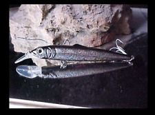 2 Matzuo MSD7-Coal 7 inch Salty Big Dog sinking diving (9-25 ft) lure lures