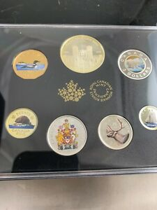 2018 Canadian Fine Silver Colorized Coin Set. ***NO RESERVE***