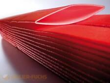 Schutzschlauch PE 10m rot Rohrisolierung | Isolierschlauch Abfluss | 4mm Dämmung