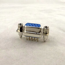1x D-SUB DB9 9Pin Female DIP PCB Straight Solder Connector Socket Adapter 2 Rows