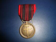 médaille militaire de la résistance patria non immemor 2ème guerre