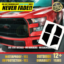 FORD F-150 & Raptor Headlight Decal Set Racing Stripe Stickers 2015 2016 2017