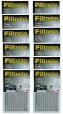 "(12) ea 3M 301Dc-H6 16"" x 25"" x 1"" Gray Dust Reduction Filtrete Furnace Filter"