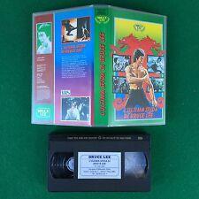 VHS - L'ULTIMA SFIDA DI BRUCE LEE (Cina 1981) di NG See Yuen SIRIO 1995 064