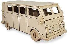 CAMPER VAN: Woodcraft banchina Costruzione in Legno Modello 3D KIT P321 età 7 Plus
