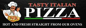 FRESH PIZZA BANNER FRESH PIZZA OUTDOOR SIGN