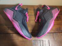 """Nike LeBron Soldier XIV """"Kay Yow"""" Men's Size 10 Black / Pink Blast DC1440 001"""
