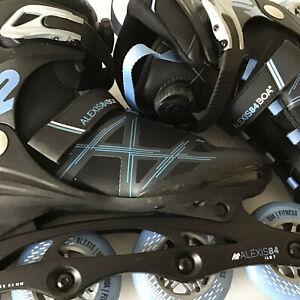 K2 Alexis 84 BOA Womens Skates Size 8.5 (Z02C)