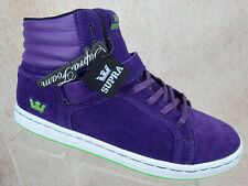 Supra Skytop Purple Suede Skate Skateboarding Jim Greco Men's Shoe Size 9.5