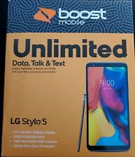 NIB Boost Mobile LG Stylo 5 - 32GB -Silvery White