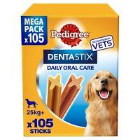 Pedigree DENTASTIX MAXI, MEGA PACK da 105pezzi  per cani oltre 25kg