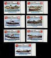 OPC 1985 Cambodia Ships Margin Set Sc#620-6 MNH