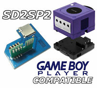 SD2SP2 Gamecube SD adapter for serial port 2 - GB Player Easy Access Compatible