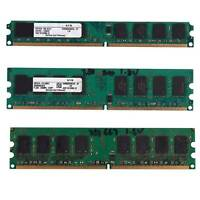 2GB DDR2 PC2-6400 800MHz 240Pin 1.8V Desktop DIMM Memory RAM for Intel, for X7M3