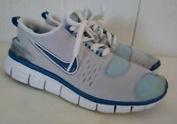 Women's Nike Free 5.0 Running Athletic Tennis Shoes Blue Gray US Sz 9 EUR 40.5