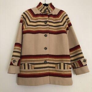 Pendleton archives wool Toboggan vintage stripe coat