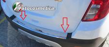 Chevrolet Trax chrome rear bumper protector scratch guard S.STEEL