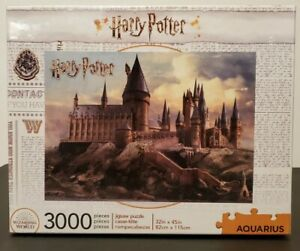 Harry Potter Hogwarts Castle Jigsaw Puzzle, Aquarius  3000 Pieces - NEW