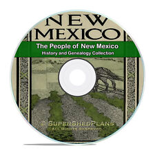 New Mexico NM Civil War Family Tree History Genealogy 215 Books DVD H41