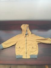 Next Infant Toddler Boys Jacket Coat Mustard Colour Age 2-3