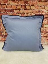 """Hudson Park Collection 800TC Blue 16""""x16"""" Decorative Pillow"""