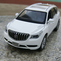 Buick Enclave 1:32 Model Cars Sound&Light Alloy Diecast Toy Car Kids Gifts White