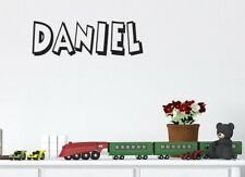 Boys name Personalised wall decal large wall sticker