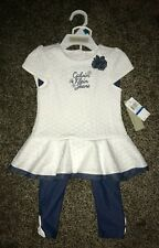 NWT CALVIN KLEIN infant / baby girl 2-piece outfit size: 24 months, $50