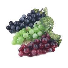 3 pcs Decorative Artificial Plastic Fruits Home Party Decoration 3 Colors 13cm