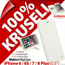 """Krusell Malmo Flip Case Cover Folio for Apple iPhone 6 / 6S / 7 / 8 Plus (5.5"""")"""