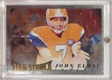1998 Pinnacle Score Star Struck Artist Proof John Elway #219 Parallel Card HOF