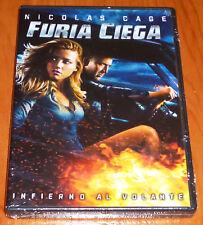 FURIA CIEGA / DRIVE ANGRY - English  Deutsch  Italiano  Español  DVD R2  Precint