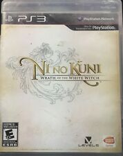 Ni No Kuni Wrath Of The White Witch PS3 Playstation 3 Black Label