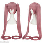 Women Pink Wigs with Long Ponytails Split Type Cosplay for Vocaloid Miku Figure