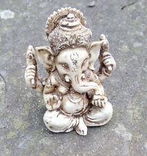 Lovely Ganesh Elephant God Hindu statue Good luck UK seller mantelpiece cream