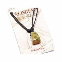 Colgante Unakita Piedra Talisman Amuleto de la suerte