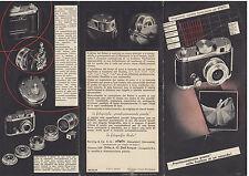 volantino accessori fotografici Robot 1939 fotomontaggio Bauhaus modernismo