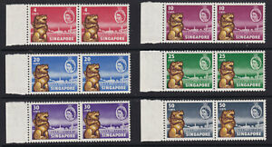 1959 SG53-58 'New Constitution' issue in Unmounted mint (MNH) pairs. Very Fine.