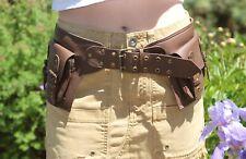 Waist Pack Festival Fanny Pack Leather Hip Bag Utility Belt Belt Bag Men Women