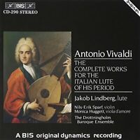 Drottningholm Baroque Ensemble - Vivaldi: Complete Works for the [CD]