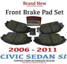 2007-2011 Honda CIVIC 4DR SI Genuine OEM Front Brake Pad Set    (45022-SVB-A03)