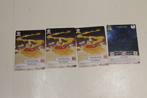 Legend of the Five Rings LCG Kyuden Isawa & The Path of Man x3 Promos (U-B3S3 23