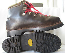 Lowa Made In Germany Mountaineer Alpine Leather Hiking Boots Men 6 Brown